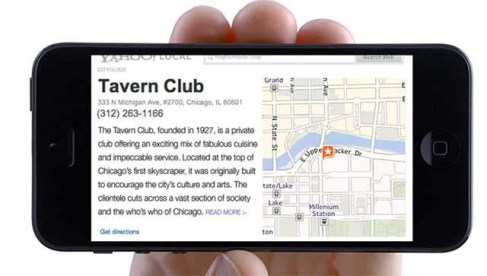 Image of street map to Tavern Club