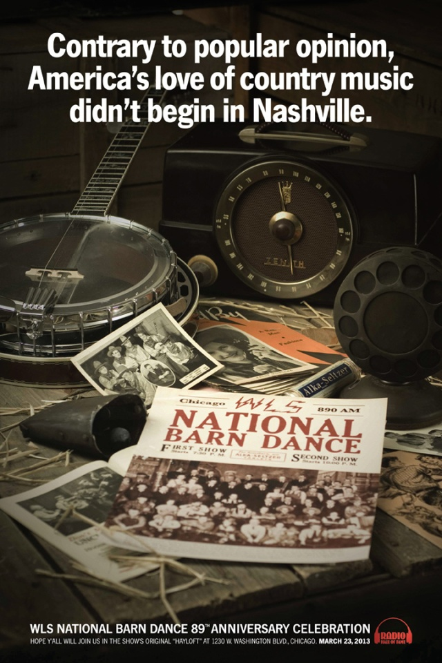 Country music didn't begin in Nashville