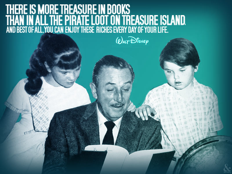 My all-time favorite Walt Disney quote