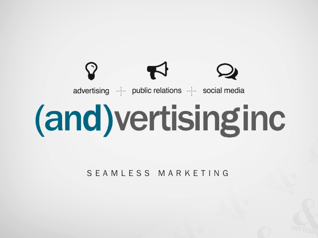 (and)vertisinginc powerpoint presentation for potential new clients