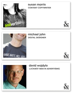 Business profiles of Susan Morris, Michael John and David Wojdyla